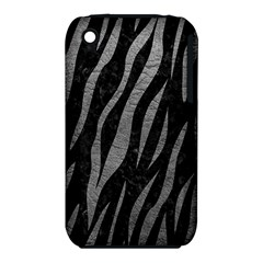Skin3 Black Marble & Gray Leather Iphone 3s/3gs