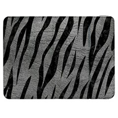 Skin3 Black Marble & Gray Leather (r) Samsung Galaxy Tab 7  P1000 Flip Case