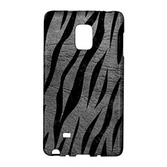 Skin3 Black Marble & Gray Leather (r) Galaxy Note Edge