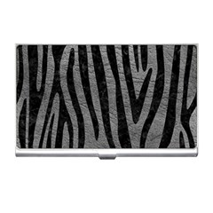 Skin4 Black Marble & Gray Leather Business Card Holders