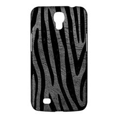 Skin4 Black Marble & Gray Leather Samsung Galaxy Mega 6 3  I9200 Hardshell Case