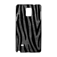 Skin4 Black Marble & Gray Leather Samsung Galaxy Note 4 Hardshell Case