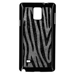 Skin4 Black Marble & Gray Leather Samsung Galaxy Note 4 Case (black)