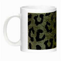 Skin5 Black Marble & Gray Leather Night Luminous Mugs