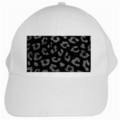 Skin5 Black Marble & Gray Leather (r) White Cap