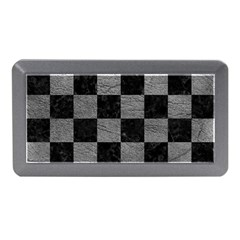 Square1 Black Marble & Gray Leather Memory Card Reader (mini)