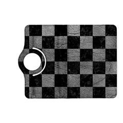 Square1 Black Marble & Gray Leather Kindle Fire Hd (2013) Flip 360 Case