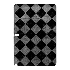 Square2 Black Marble & Gray Leather Samsung Galaxy Tab Pro 10 1 Hardshell Case