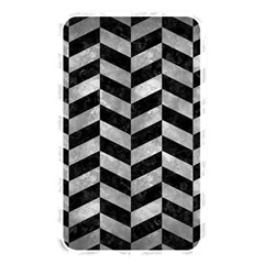 Chevron1 Black Marble & Gray Metal 2 Memory Card Reader