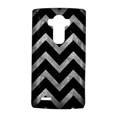 Chevron9 Black Marble & Gray Metal 2 Lg G4 Hardshell Case