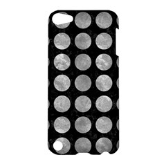 Circles1 Black Marble & Gray Metal 2 Apple Ipod Touch 5 Hardshell Case