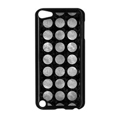 Circles1 Black Marble & Gray Metal 2 Apple Ipod Touch 5 Case (black)