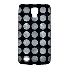 Circles1 Black Marble & Gray Metal 2 Galaxy S4 Active