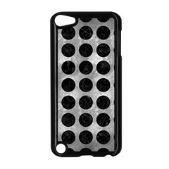 Circles1 Black Marble & Gray Metal 2 (r) Apple Ipod Touch 5 Case (black)