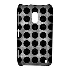 Circles1 Black Marble & Gray Metal 2 (r) Nokia Lumia 620