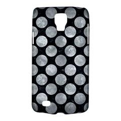 Circles2 Black Marble & Gray Metal 2 Galaxy S4 Active