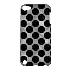 Circles2 Black Marble & Gray Metal 2 (r) Apple Ipod Touch 5 Hardshell Case