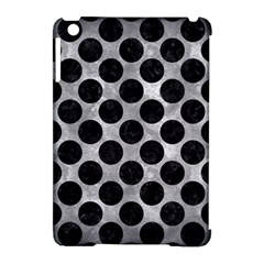 Circles2 Black Marble & Gray Metal 2 (r) Apple Ipad Mini Hardshell Case (compatible With Smart Cover)