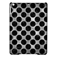 Circles2 Black Marble & Gray Metal 2 (r) Ipad Air Hardshell Cases