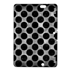 Circles2 Black Marble & Gray Metal 2 (r) Kindle Fire Hdx 8 9  Hardshell Case
