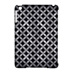 Circles3 Black Marble & Gray Metal 2 Apple Ipad Mini Hardshell Case (compatible With Smart Cover)