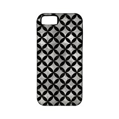 Circles3 Black Marble & Gray Metal 2 (r) Apple Iphone 5 Classic Hardshell Case (pc+silicone)