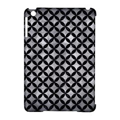 Circles3 Black Marble & Gray Metal 2 (r) Apple Ipad Mini Hardshell Case (compatible With Smart Cover)