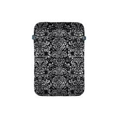 Damask2 Black Marble & Gray Metal 2 Apple Ipad Mini Protective Soft Cases