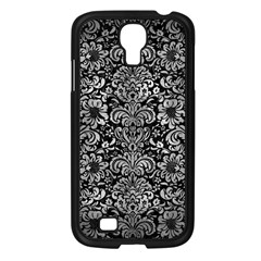 Damask2 Black Marble & Gray Metal 2 Samsung Galaxy S4 I9500/ I9505 Case (black)