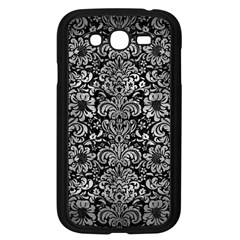 Damask2 Black Marble & Gray Metal 2 Samsung Galaxy Grand Duos I9082 Case (black)