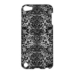 Damask2 Black Marble & Gray Metal 2 (r) Apple Ipod Touch 5 Hardshell Case