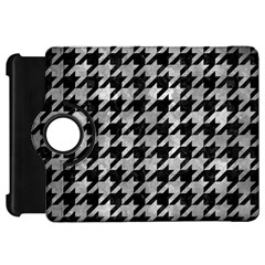 Houndstooth1 Black Marble & Gray Metal 2 Kindle Fire Hd 7