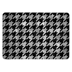Houndstooth1 Black Marble & Gray Metal 2 Samsung Galaxy Tab 8 9  P7300 Flip Case