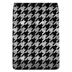 Houndstooth1 Black Marble & Gray Metal 2 Flap Covers (s)