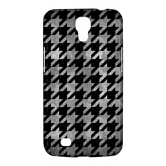 Houndstooth1 Black Marble & Gray Metal 2 Samsung Galaxy Mega 6 3  I9200 Hardshell Case