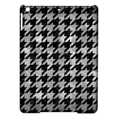 Houndstooth1 Black Marble & Gray Metal 2 Ipad Air Hardshell Cases