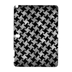 Houndstooth2 Black Marble & Gray Metal 2 Galaxy Note 1