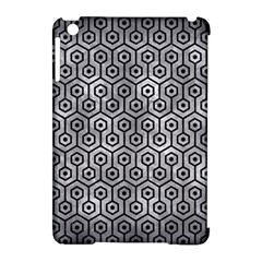 Hexagon1 Black Marble & Gray Metal 2 (r) Apple Ipad Mini Hardshell Case (compatible With Smart Cover)