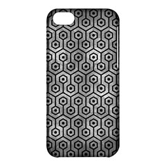 Hexagon1 Black Marble & Gray Metal 2 (r) Apple Iphone 5c Hardshell Case