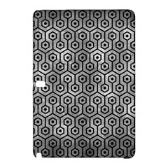 Hexagon1 Black Marble & Gray Metal 2 (r) Samsung Galaxy Tab Pro 10 1 Hardshell Case