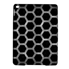 Hexagon2 Black Marble & Gray Metal 2 Ipad Air 2 Hardshell Cases