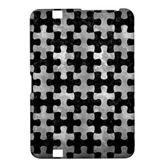 Puzzle1 Black Marble & Gray Metal 2 Kindle Fire Hd 8 9