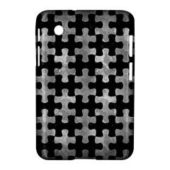 Puzzle1 Black Marble & Gray Metal 2 Samsung Galaxy Tab 2 (7 ) P3100 Hardshell Case