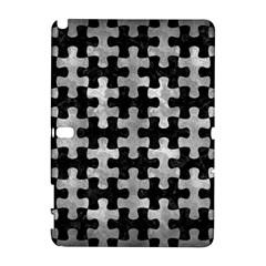 Puzzle1 Black Marble & Gray Metal 2 Galaxy Note 1