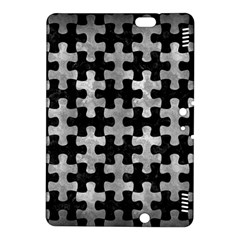 Puzzle1 Black Marble & Gray Metal 2 Kindle Fire Hdx 8 9  Hardshell Case