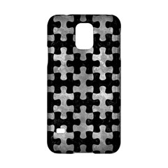 Puzzle1 Black Marble & Gray Metal 2 Samsung Galaxy S5 Hardshell Case