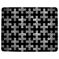 Puzzle1 Black Marble & Gray Metal 2 Jigsaw Puzzle Photo Stand (rectangular)