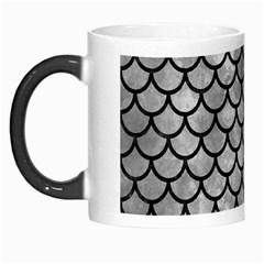 Scales1 Black Marble & Gray Metal 2 (r) Morph Mugs