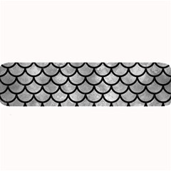 Scales1 Black Marble & Gray Metal 2 (r) Large Bar Mats