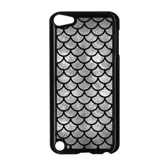 Scales1 Black Marble & Gray Metal 2 (r) Apple Ipod Touch 5 Case (black)